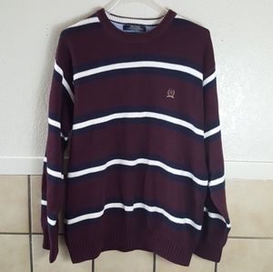 XXL Tommy Hilfiger classic thick striped sweater